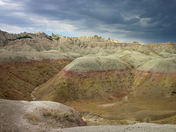 Gathering Clouds, Badlands, SD