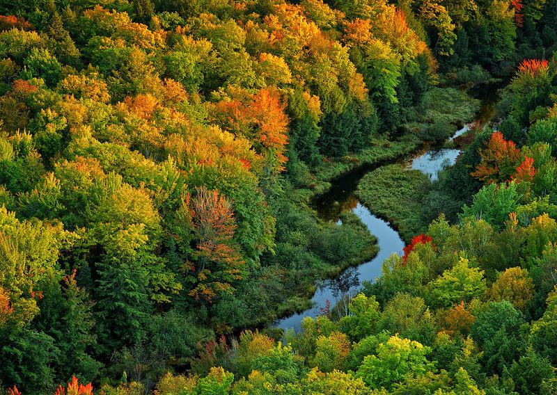 Autumn, Porcupine Mountains, UP