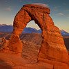 Delicate Sunset at Delicate Arch, UT