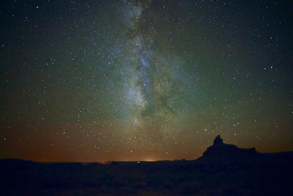 Milky Way, Valley of the Gods, UT