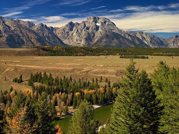 Mount Moran, WY