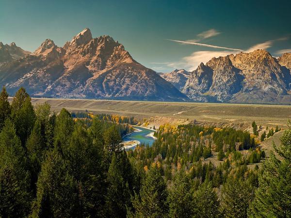 Mountain Range, Grand Teton, WY