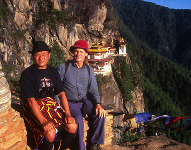 Hishey and Rich near Tigers Nest