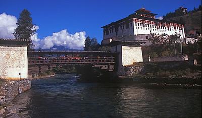 Historic Bridge in Paro
