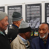 On our final day, we visited Robben Island, where Nelson Mandela was imprisoned. These men were waiting in line to board the boat with us. They are former inmates who are now guides for visitors like us.