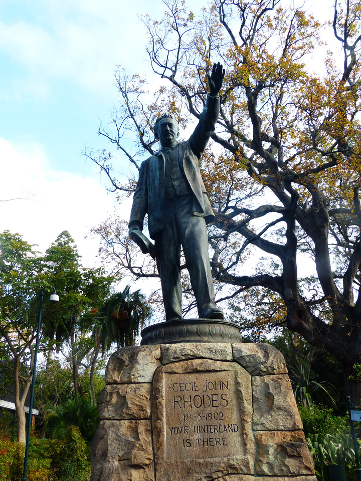 "Capetown has a beautiful park called Company's Garden where many of the museums are located. Cecil Rhodes was very important in the history of this area. He is the source of the name ""Rhodesia."""