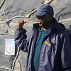 Our Tour Guide at Robbin Island. A very impressive man.