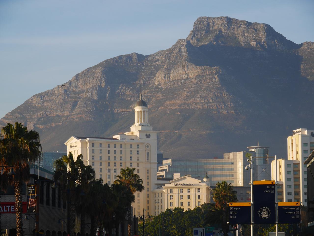 Downtown Capetown.