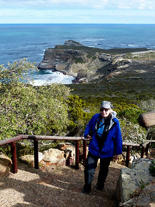 Cape of Good Hope is in the background.