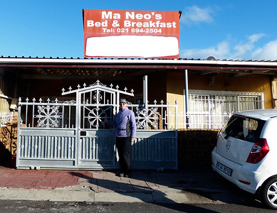 One of the best experiences we had in Capetown was staying one night at Ma Neo's B&B in a township called Langa. Township are areas inhabited by poor blacks.
