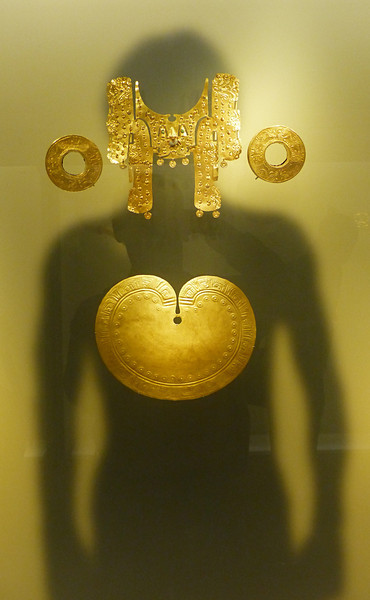 One of the top attractions is the gold museum with many interesting displays.