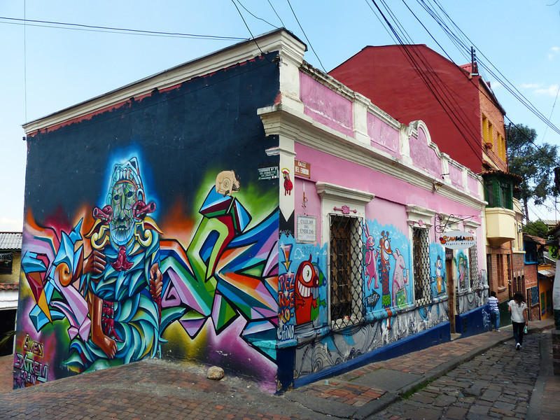 My favorite activity was viewing the hundreds of colorful murals. They are everywhere and are amazingly artistic.