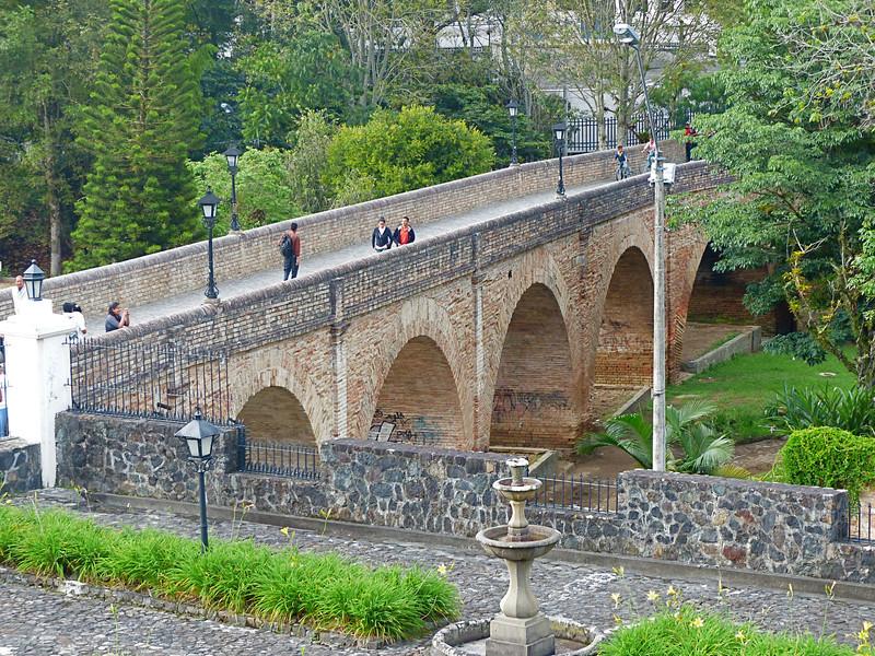 An old bridge in Popayan.