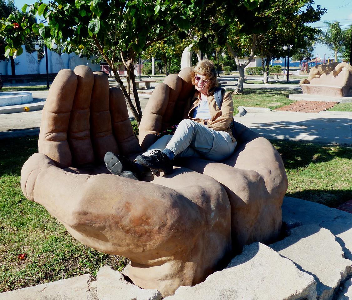 Cienfuegos - Sculpture Garden on the walk to Punta Gorda