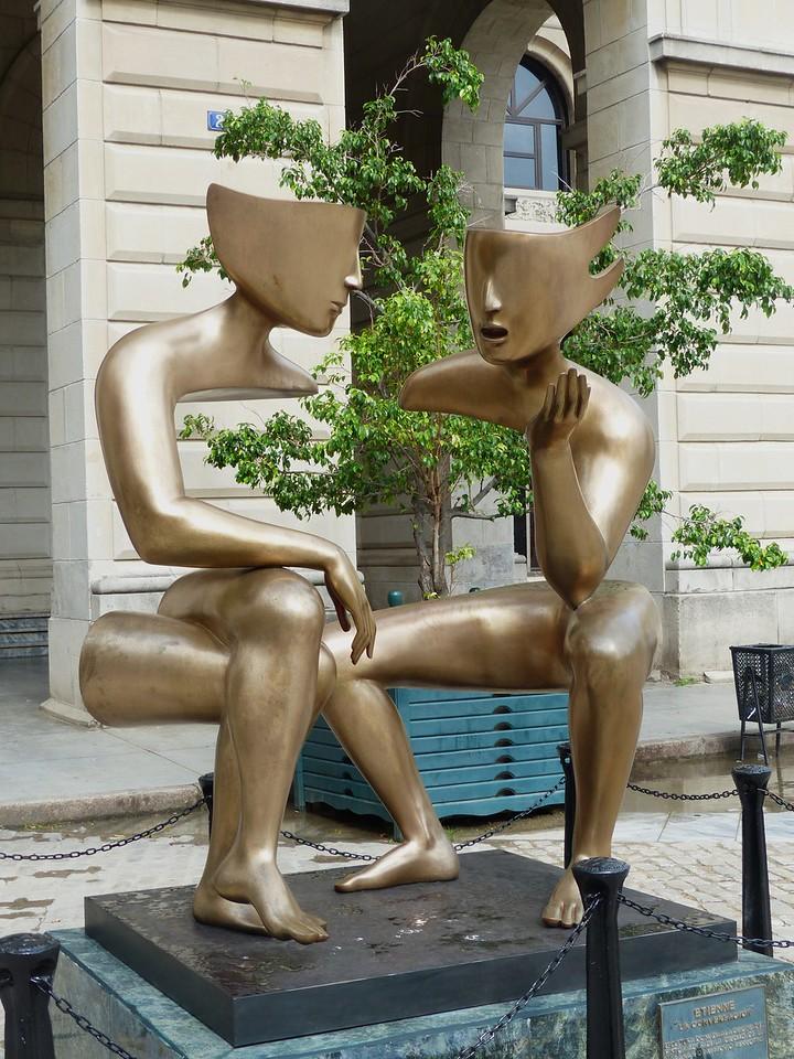 Havana - Art in Plaza de San Francisco