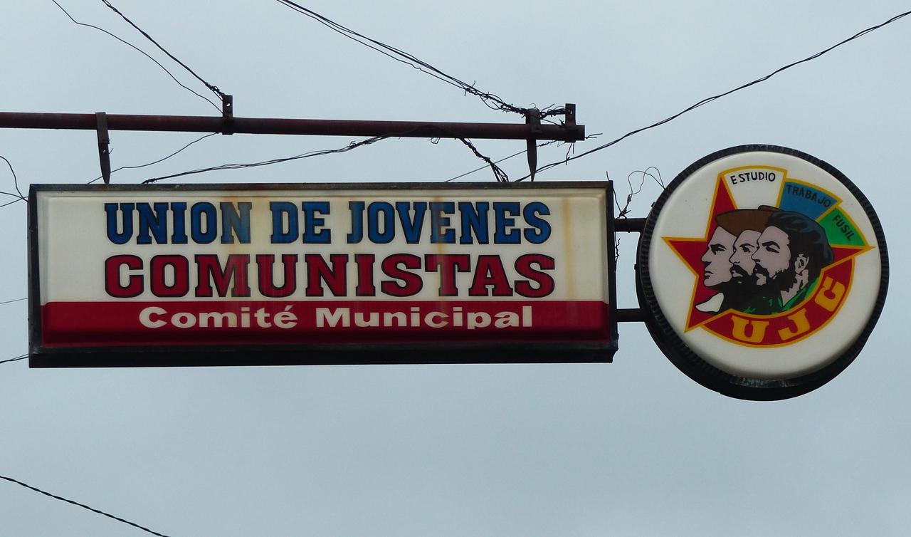 Cienfuegos - Sign on the main street