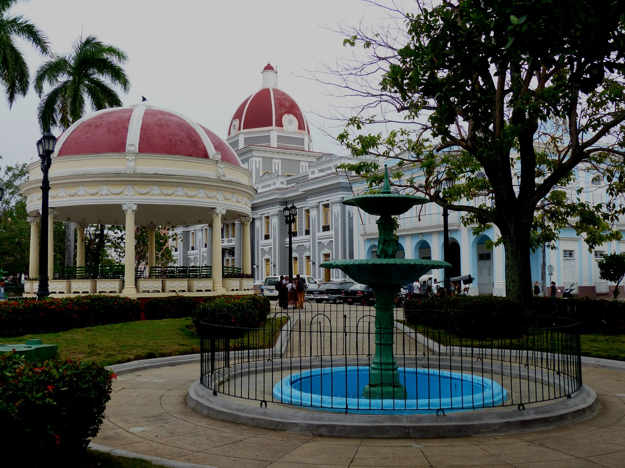 Cienfuegos - The city center is a World Heritage site