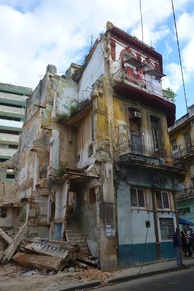 Havana -  Lots of buildings in Old Havana look like this.