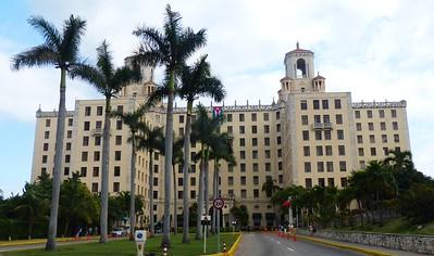 Havana -  Main entrance to the National Hotel