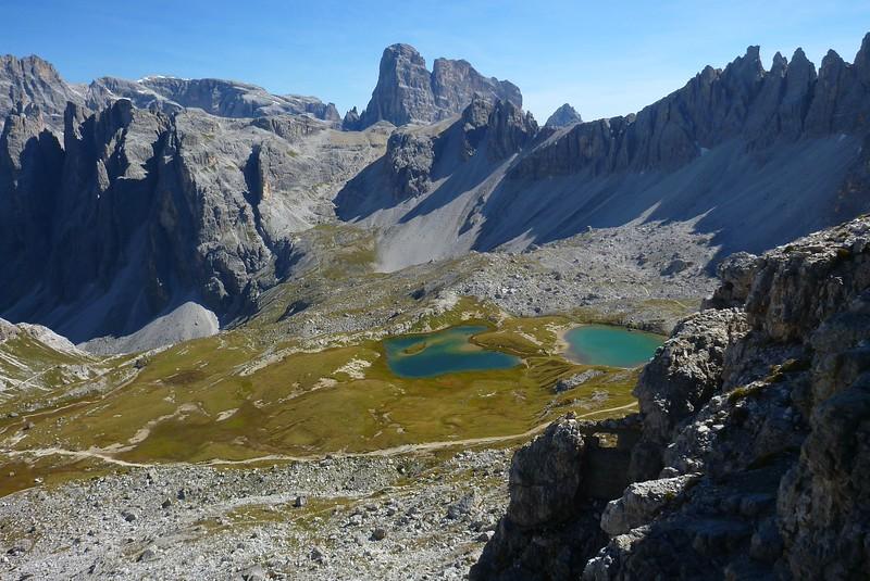 Torre Doblino Via Ferrata - view while descending