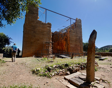 The Great Temple at Yeha. It is believed to be at least 2,800 years old.