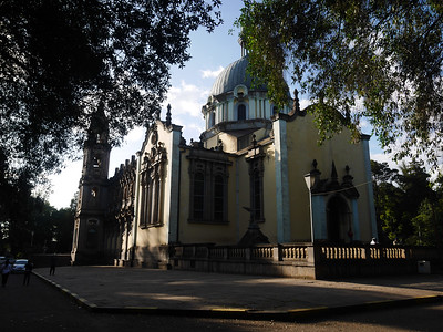 Trinity Church in Addis Ababa. Haile Selassie is buried here.