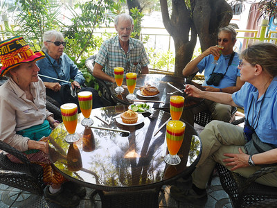Fruit juices in Ethiopia are wonderful.