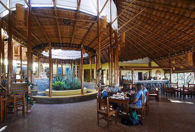 Breakfast at the Sabana Lodge.