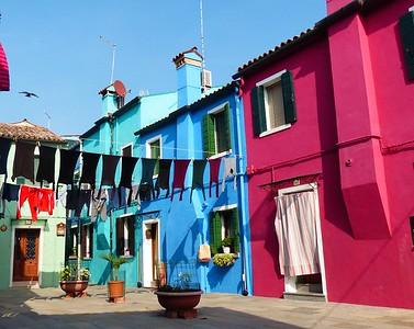 Venice  - the nearby island of  Burano