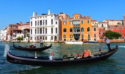 Venice  - from near Accademia Bridge