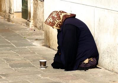 Venice - street people