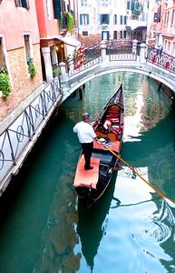 Venice - gondolas everywhere