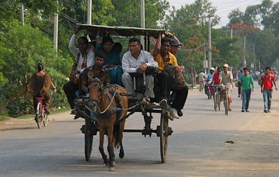 The main street of Nepalgunj