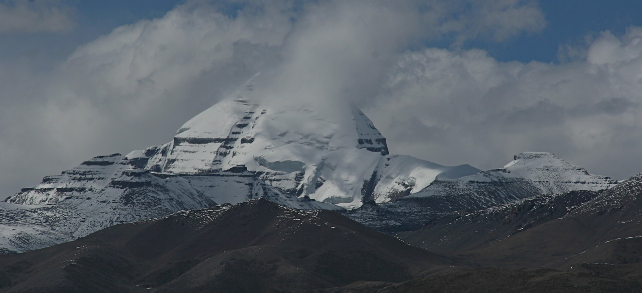 One of our last views of Mt Kailash