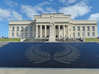 Steps from Wintergarden was the  Auckland Museum fronted by a war memorial. It is a must-see place in Auckland.