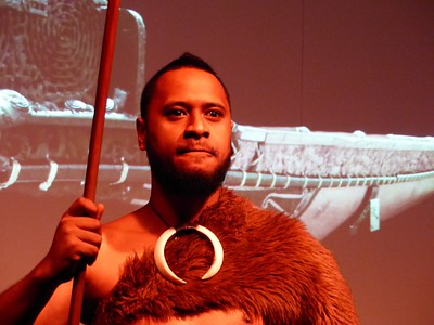 We also watched a Maori performance.