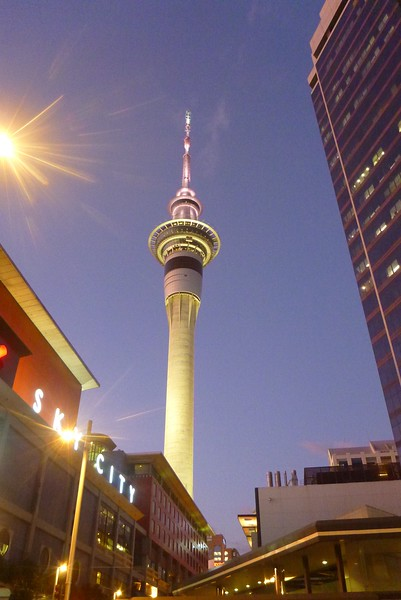 Auckland is a very multicultural city.  We had a great time choosing between different ethnic restaurants. The Sky Tower in the city center provides bungi jumping in keeping with New Zealand's adventure reputation.