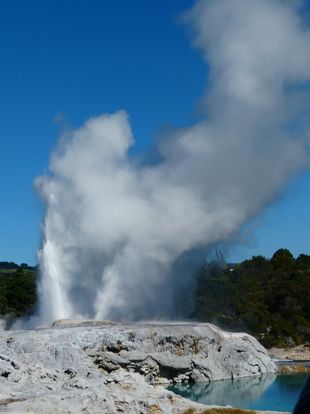 The largest geyser.