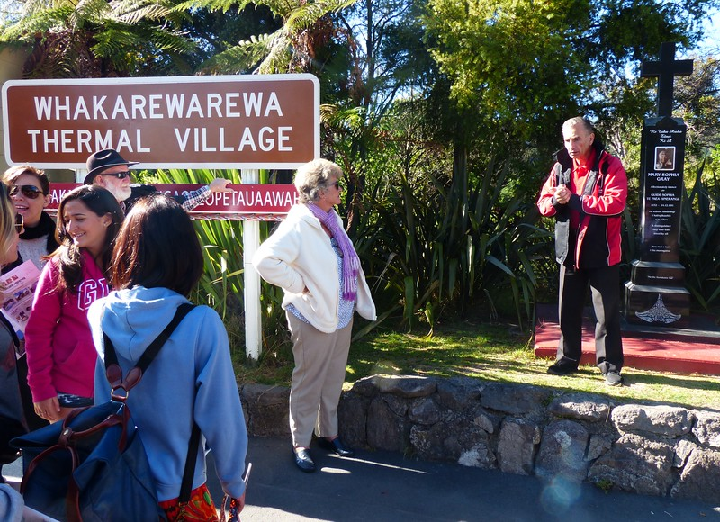 We took a Maori-guided tour in Rotorua's  Whakarewarera Thermal Village which was a trip highlight.