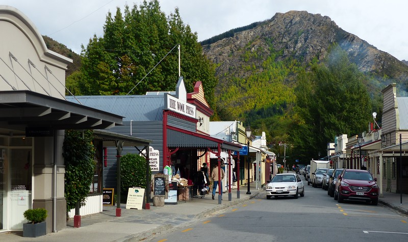 Arrowtown is a small tourist town near Queenstown. It has a mining history.