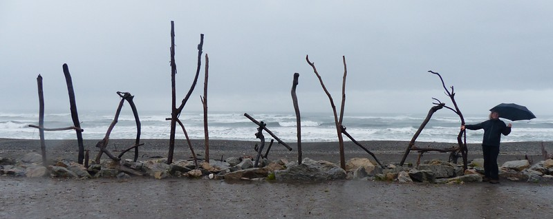 I think this means we have arrived in Hokitika.