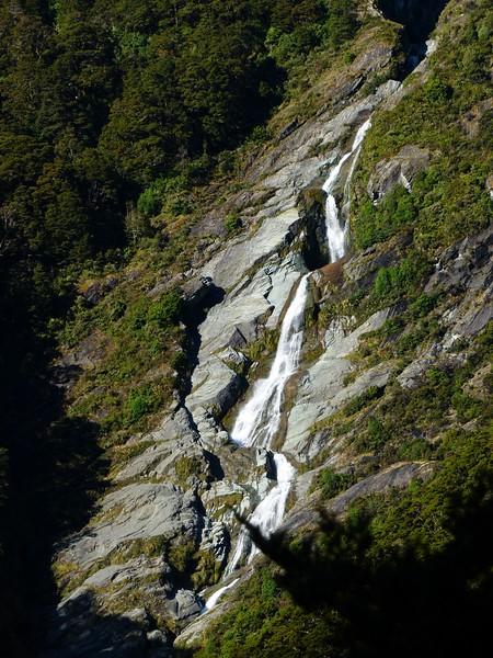 Mt. Aspiring backpack - great waterfalls.