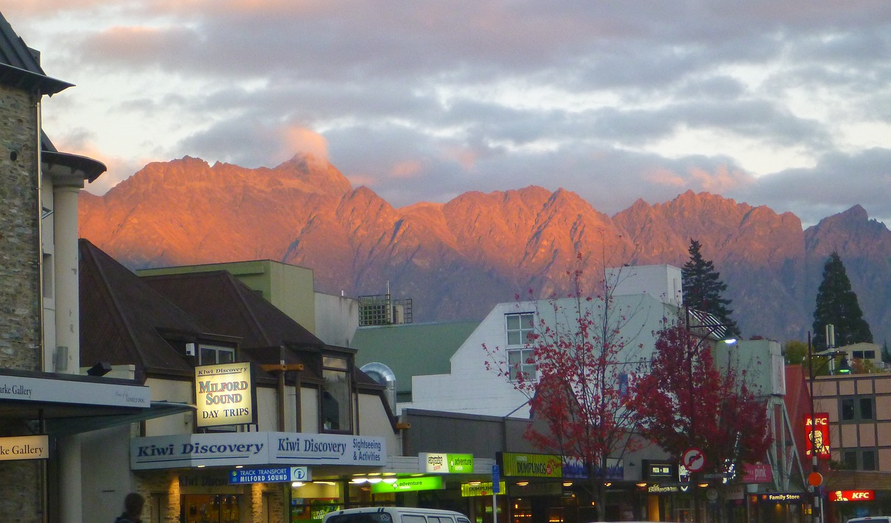 Queenstown is the tourist and adventure capital of the south Island. It was like an adventure Disneyland.