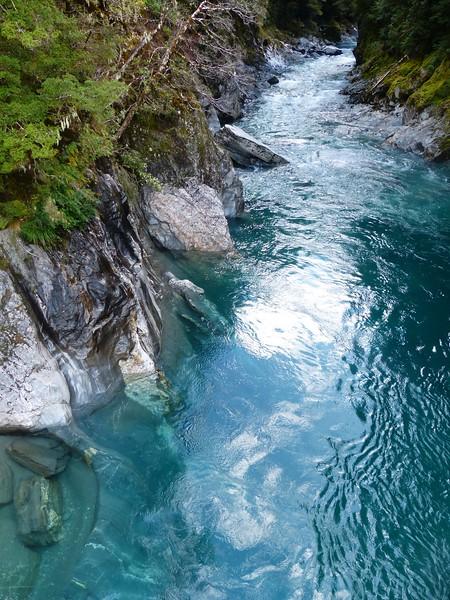 Haast Highway - Blue Pools Hike.