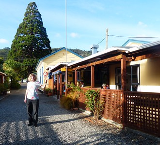 Sequoia Backpackers hostel in Picton. One of our favorite places. It even had a hot tub.
