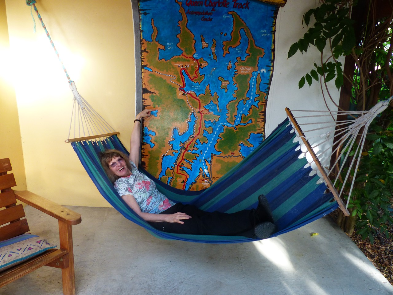 And a hammock.