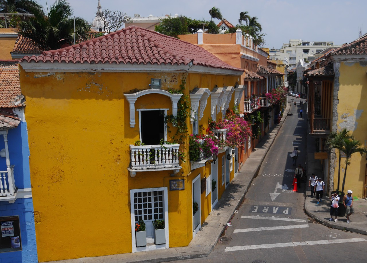 Cartagena is a beautiful Colonial city.