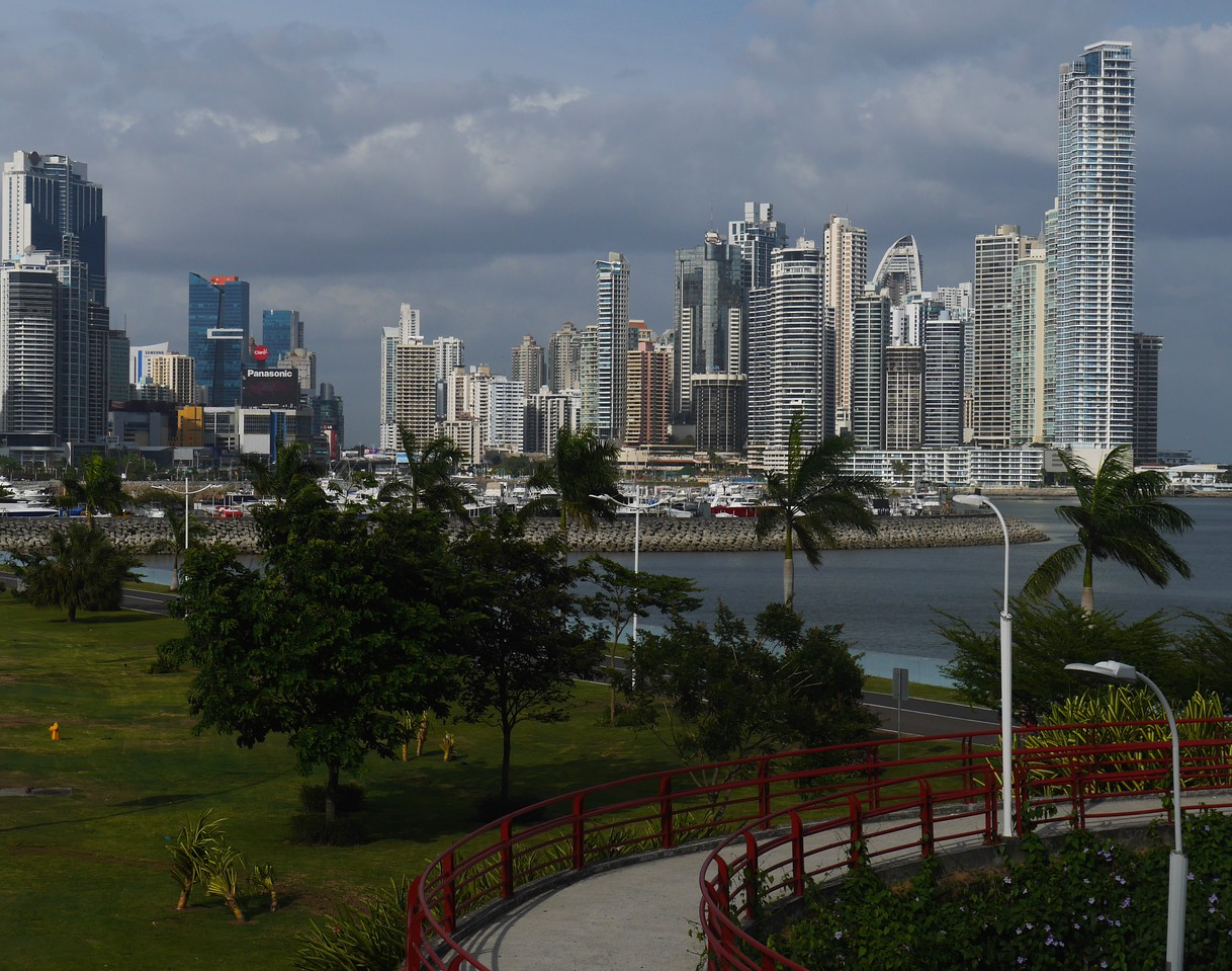 Panama City is surprisingly modern.