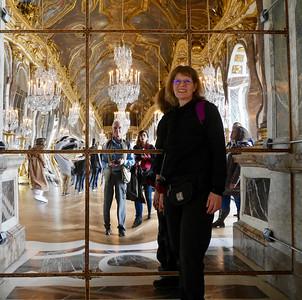 Versailles - Hall of Mirrows