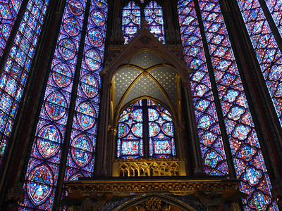Sainte-Chapelle - Upstairs